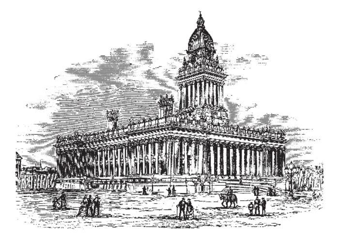 stada blog post - wakefield business facts - old engraved leeds illustration