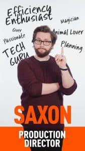 stada media team saxon production director